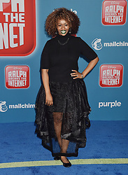 HOLLYWOOD, CA - NOVEMBER 05: Melissa Joan Hart and family attend the Premiere Of Disney's 'Ralph Breaks The Internet' at the El Capitan Theatre on November 5, 2018 in Los Angeles, California. 05 Nov 2018 Pictured: GloZell Green. Photo credit: TM/ROT/Capital Pictures / MEGA TheMegaAgency.com +1 888 505 6342