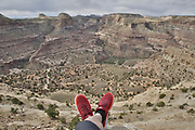 SHOT 5/21/17 10:35:39 AM - Emery County is a county located in the U.S. state of Utah. As of the 2010 census, the population of the entire county was about 11,000. Includes images of mountain biking, agriculture, geography and Goblin Valley State Park. (Photo by Marc Piscotty / © 2017)