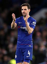 File photo dated 05-01-2019 of Chelsea's Cesc Fabregas.