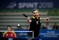 Alvaro VALERA of Spain plays final match during Day 4 of SPINT 2018 - World Para Table Tennis Championships, on October 20, 2018, in Arena Zlatorog, Celje, Slovenia. Photo by Vid Ponikvar / Sportida