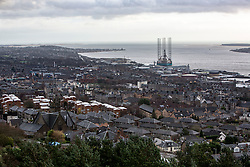 Hilltown from The Law hill. Scotland's schemes story, Hilltown area of Dundee.