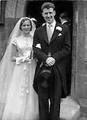 1952 Dr. James Ryan and Miss Cathleen Barry Wedding