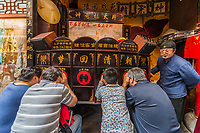 Shanghai, China - April 7, 2013: people watching Chinese cinema at the city of Shanghai in China on april 7th, 2013