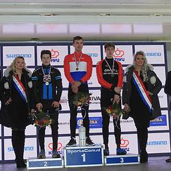 14-01-2018: Wielrennen: NK Veldrijden: Surhuisterveen: Podium U23
