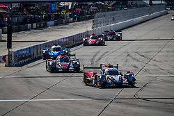 March 15, 2019 - Sebring, UNITED STATE OF AMERICA - 37 JACKIE CHAN DC RACING (CHN) ORECA 07 GIBSON LMP2 DAVID HEINEMEIER HANSSON (DNK) JORDAN KING (GBR) WILL STEVENS  (Credit Image: © Panoramic via ZUMA Press)