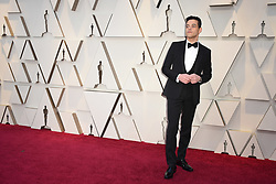 Rami Malek walking the red carpet as arriving to the 91st Academy Awards (Oscars) held at the Dolby Theatre in Hollywood, Los Angeles, CA, USA, February 24, 2019. Photo by Lionel Hahn/ABACAPRESS.COM