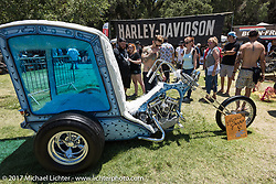 Born Free 9 Motorcycle Show at Oak Creek Park. Silverado, CA. USA. Sunday June 25, 2017. Photography ©2017 Michael Lichter.
