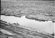 """Dock Commission. Lower harbor, Lumber dock, Terminal 1. July 7, 1954"""