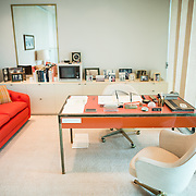The office of former first lady Lady Bird Johnson preserved in the LBJ Library. The LBJ Library and Museum (LBJ Presidnetial Library) is one of the 13 presidential libraries administered by the National Archives and Records Administration. It houses historical documents from Lyndon Johnson's presidency and political life as well as a museum.