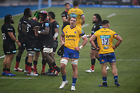 Rugby Union - 2019 / 2020 Gallagher Premiership - Round 22 - Saracens vs Bath - Allianz Park<br /> <br /> Bath Rugby's Will Spencer dejected at the final whistle after the 17-17 draw.<br /> <br /> COLORSPORT/ASHLEY WESTERN