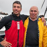 Giancarlo Pedote et Jose leonardo silva / Maire de Horta
