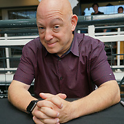 Business Design Centre, England, UK. 23rd August 2017. Brian Michael Bendis is an award-winning comic book creator (writer and artist), signing comic book at the London Super Comic Convention 2017.