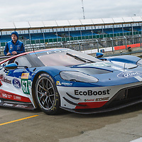 #67, Ford Chip Ganassi Team UK,Ford GT, driven by  Andy Priaulx, Harry Tincknell, Luis Felipe Derani during  at FIA WEC 6 Hours of Silverstone 2017, Silverstone International Circuit, on 13.04.2017