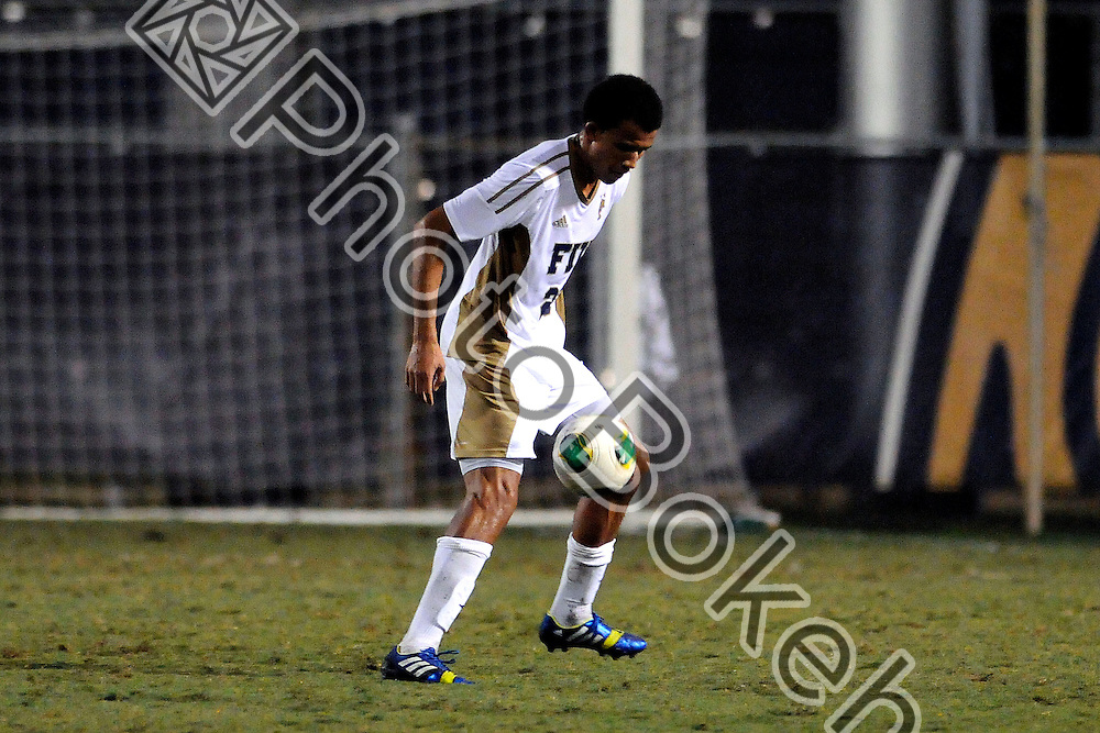 2013 November 08 - FIU's Kevin Barbar (23).  <br /> Florida International University fell to Charlotte, 3-0, at FIU Soccer Field, Miami, Florida. (Photo by: www.photobokeh.com / Alex J. Hernandez) This image is copyright PhotoBokeh.com and may not be reproduced or retransmitted without express written consent of PhotoBokeh.com. ©2013 PhotoBokeh.com - All Rights Reserved