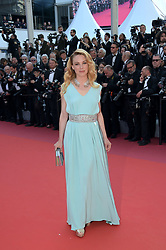 May 25, 2019 - Cannes, France - 72nd Cannes Film Festival 2019, Closing Ceremony Red Carpet. Pictured:  Laetitia Dosch (Credit Image: © Alberto Terenghi/IPA via ZUMA Press)