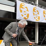 NLD/Hilversum/20080327 - Start ledenwerf actie omroep Max, voorzitter Jan Slagter