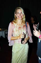 TV presenter ANNA WALKER at the Pink Ribbon Party - A night of Fashion and Music in aid of 3 cancer charities, Breast Cancer Haven, Cancer Resource Centre and Positive Action on Cancer, held at the Waldorf Hilton Hotel, Aldwych, London on 19th October 2004. <br /><br />MINIMUM REPRODUCTION FEE - SEE OUR WEB SITE<br /><br />NON EXCLUSIVE - WORLD RIGHTS