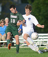 Pennridge at CB South Soccer Game in Warrington, Pennsylvania