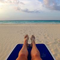 Central America, Cuba, Cayo Santa Maria. Point of View at Caribbean Beach Resort in Cuba.