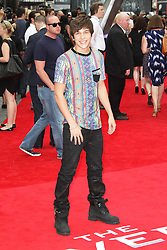 © Licensed to London News Pictures. Austin Mahone at The Wolverine UK film premiere, Leicester Square, London UK, 16 July 2013. Photo by Richard Goldschmidt/LNP