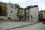 Public square, Sibenik, Croatia