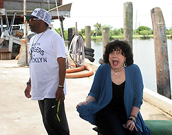 01 June 2010. New Orleans, Louisiana, USA.  <br /> Marylee Orr shot on set in Chalmette for Spike Lee's latest movie,  'If God is Willing and da Creek Don't Rise.'<br /> Photo ©; Charlie Varley/varleypix.com.