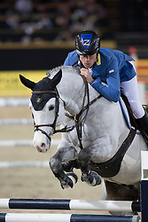 Ahlmann Christian, GER, Caribis Z<br /> Open Sires of the World Zangersheide<br /> Vlaanderens Kerstjumping Memorial Eric Wauters<br /> © Dirk Caremans<br /> 27/12/2016