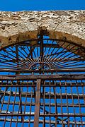Tonnara del Secco,  di San Vito Lo Capo, a ruined former tuna fishing and processing factory in Sicily, dating back to 1412. It closed down in 1965.
