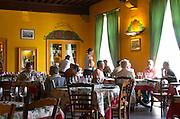 Restaurant La Maison des Beaujolais. Beaujolais, Burgundy, France