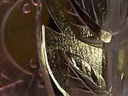 Detail von einer Eisskulptur in einem Schamanen Zentrum für Besucher und Touristen in der Nähe der sibirischen Stadt Jakutsk. Jakutsk wurde 1632 gegruendet und feierte 2007 sein 375 jaehriges Bestehen. Jakutsk ist im Winter eine der kaeltesten Grossstaedte weltweit mit durchschnittlichen Winter Temperaturen von -40.9 Grad Celsius. Die Stadt ist nicht weit entfernt von Oimjakon, dem Kaeltepol der bewohnten Gebiete der Erde.<br /> <br /> Detail of an ice sculpture in a Shaman center for visitors and tourist close to the city of Yakutsk. Yakutsk was founded in 1632 and celebrated 2007 the 375th anniversary - billboard announcing the celebration. Yakutsk is a city in the Russian Far East, located about 4 degrees (450 km) below the Arctic Circle. It is the capital of the Sakha (Yakutia) Republic (formerly the Yakut Autonomous Soviet Socialist Republic), Russia and a major port on the Lena River. Yakutsk is one of the coldest cities on earth, with winter temperatures averaging -40.9 degrees Celsius.