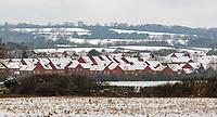 A very rare blanket of snow in Stratford upon Avon Warwickshire
