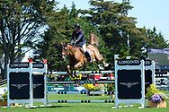 Romain POTIN (FRA) riding VIBRATO D'ENOCQ during the Prix Groupe Barriere Competition of the International Show Jumping of La Baule 2018 (Jumping International de la Baule), on May 19, 2018 in La Baule, France - Photo Christophe Bricot / ProSportsImages / DPPI