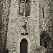Tower Of London - Salt Tower- London - Sepia Black & White