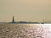 Statue of Liberty in New York City?s harbor.