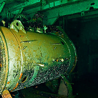Re-compression chamber, USS Kittiwake