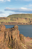 View of Columbia River from Columbia Hills State Park Washington
