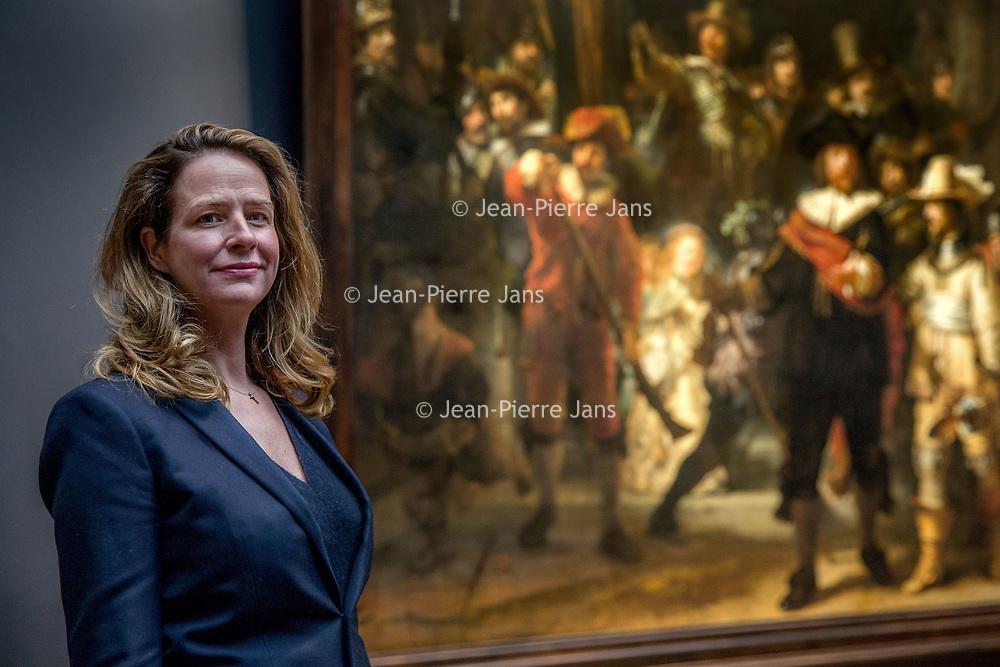 Nederland, Amsterdam, 3 mei 2017.<br />De Limburgse Hendrikje Crebolder is toegetreden tot het directieteam van het Rijksmuseum. Zij is nu onder meer verantwoordelijk voor fondsenwerving.<br /><br /><br /><br />Foto: Jean-Pierre Jans