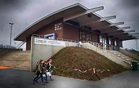 ZWOLLE - Clubhuis HC Zwolle, Fusieclub (ZMHC en Tempo'41 fuseren naar Hockeyclub Zwolle) in 2012. COPYRIGHT KOEN SUYK