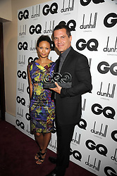 THANDIE NEWTON and JOSH BROLIN at the GQ Men of the Year Awards held at the Royal Opera House, London on 2nd September 2008.<br /> <br /> NON EXCLUSIVE - WORLD RIGHTS