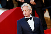 Michael Douglas  attends the 'Behind The Candelabra' premiere during The 66th Annual Cannes Film Festival at Theatre Lumiere on May 21, 2013 in Cannes, France