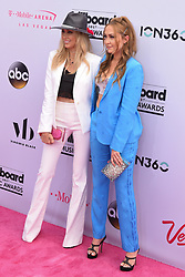 Tish Cyrus and DJ Brandi Cyrus at 2017 Billboard Music Awards held at T-Mobile Arena on May 21, 2017 in Las Vegas, NV, USA (Photo by Jason Ogulnik) *** Please Use Credit from Credit Field ***