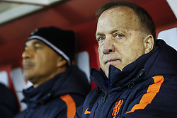(l-r) assistant trainer Ruud Gullit of Holland, coach Dick Advocaat of Holland during the friendly match between Scotland and The Netherlands on November 09, 2017 at Pittodrie Stadium in Aberdeen, Scotland