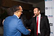 Guest, Michael Quill, and Senator Ben Allen