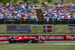 July 29, 2017 - Budapest, Hungary - Motorsports: FIA Formula One World Championship 2017, Grand Prix of Hungary, ..#7 Kimi Raikkonen (FIN, Scuderia Ferrari) (Credit Image: © Hoch Zwei via ZUMA Wire)