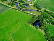 Nederland, Overijssel, Gemeente Almelo; 21–06-2020;  Bornerbroek, Bornerbroekse Waterleiding, fungeert als opvang van water en afvoermogelijkheid bij extreme regenval. Onderdeel van de De Doorbraak.<br /> Bornerbroek, Bornerbroekse Waterleiding, functions as a collection of water and drainage facility in case of extreme rainfall. Part of the De Doorbraak.<br /> <br /> luchtfoto (toeslag op standaard tarieven);<br /> aerial photo (additional fee required)<br /> copyright © 2020 foto/photo Siebe Swart