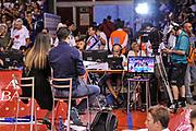 DESCRIZIONE : Campionato 2014/15 Serie A Beko Grissin Bon Reggio Emilia - Dinamo Banco di Sardegna Sassari Finale Playoff Gara7 Scudetto<br /> GIOCATORE : Alice Pedrazzi<br /> CATEGORIA : RAI TV<br /> SQUADRA : RAI TV<br /> EVENTO : LegaBasket Serie A Beko 2014/2015<br /> GARA : Grissin Bon Reggio Emilia - Dinamo Banco di Sardegna Sassari Finale Playoff Gara7 Scudetto<br /> DATA : 26/06/2015<br /> SPORT : Pallacanestro <br /> AUTORE : Agenzia Ciamillo-Castoria/L.Canu