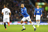 Aaron Lennon of Everton looks on. Premier league match, Everton v Swansea city at Goodison Park in Liverpool, Merseyside on Saturday 19th November 2016.<br /> pic by Chris Stading, Andrew Orchard sports photography.