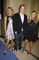 Left to right, ASSIA WEBSTER and TOM & SARA PARKER-BOWLES at the 10th Anniversary Party of the Lavender Trust, Breast Cancer charity held at Claridge's, Brook Street, London on 1st May 2008.<br />