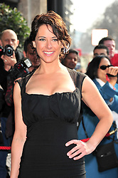 © under license to London News Pictures. 08/03/11.Belinda Stewart Wilson Red carpet arrivals for the 2011 TRIC (The Television & Radio Industries Club) Awards at Grosvenor House Hotel  London . Photo credit should read ALAN ROXBOROUGH/LNP