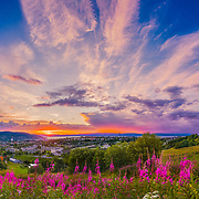 I took this picture after rain. the sky was so beautiful and colorful. It is a panorama photo using 28 pictures shot with 85 mm. Please feel free to check my photos here or find me by: |Website| ,